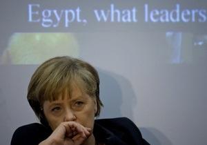 Египет - Меркель хочет пересмотреть вопрос о поставках вооружений в Египет