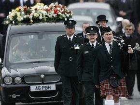 Лидеры ИРА присутствовали на похоронах убитого боевиками полицейского