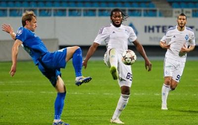 Динамо не забило в трех матчах подряд впервые с сезона 2004/05