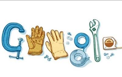 Google сменил дудл в честь праздника Первомая