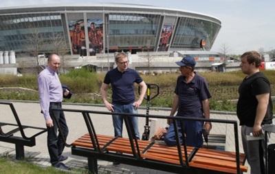 Гендиректор Шахтера побывал в Донецке