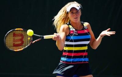 Теннис: Украинка Свитолина впервые в сезоне вышла в финал