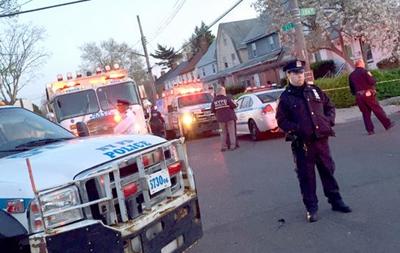 В Нью-Йорке полицейскому выстрелили в голову