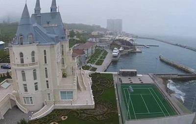 Активисты показали  замок  Кивалова в Одессе
