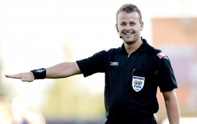 UEFA назначил на матч Наполи – Днепр арбитра из Норвегии