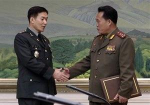 Первые за два года военные переговоры между Северной и Южной Кореями провалились