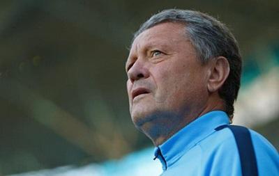 Мирон Маркевич: Я волнуюсь перед матчем с Наполи