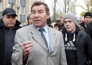 Заммэра Красного Луча отпущен под залог в 32 тысячи гривен