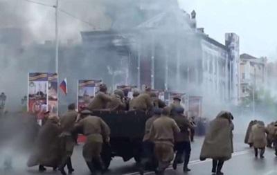 В Чечне 9 мая отметили стрельбой
