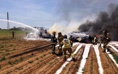 В авиакатастрофе в Испании двое людей выжили