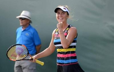 Теннис: Свитолина в 20 лет повторила рекорд Украины