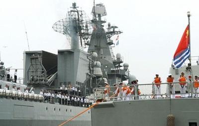 Россия и Китай начали совместные учения в Средиземном море
