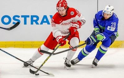ЧМ по хоккею: Швеция обыграла Францию, Словения - Данию