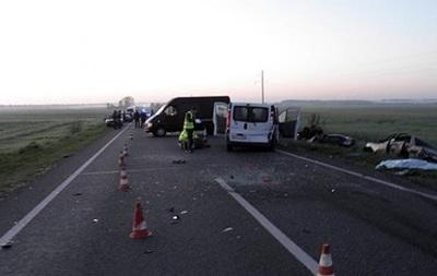 Двойное ДТП на Волыни: четверо погибших
