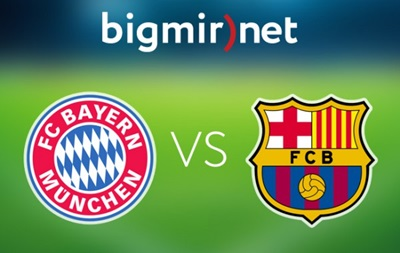 Бавария - Барселона 3:2 трансляция матча 1/2 финала Лиги чемпионов