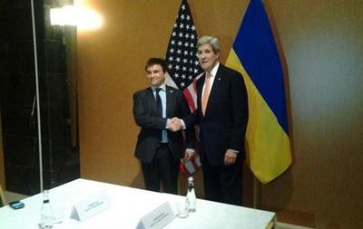 Климкин встретился с Керри перед заседанием НАТО в Турции