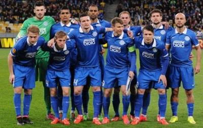 Днепр отправился в Киев на матч с Наполи