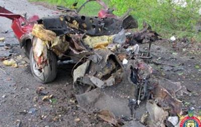 В Донецкой области подорвали автомобиль, водитель погиб
