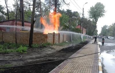В Ирпене произошел взрыв на газораспределительной станции