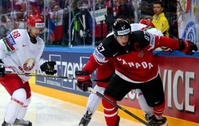 ЧМ по хоккею. Канада на пути в полуфинал учинила разгром белорусам