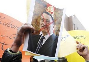 Власти Египта опровергли информацию о бегстве Мубарака за границу