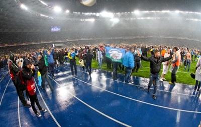 Фанаты Наполи пронесли на Олимпийский флаг России - СМИ