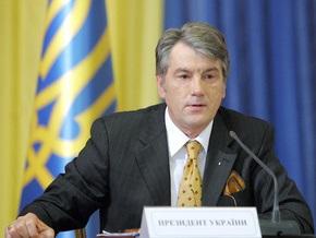 Ющенко подписал закон об увеличении срока полномочий крымского парламента