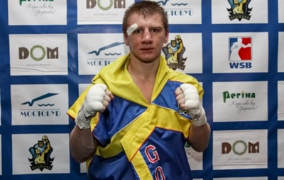 Бокс: Украинец Голуб одержал очередную досрочную победу