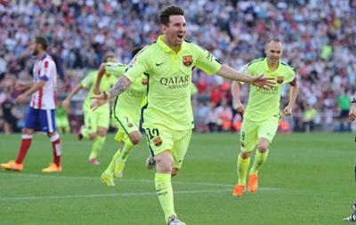 Барселона оформляет чемпионство в матче с Атлетико