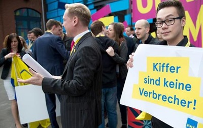 Свободные демократы выступают за легализацию марихуаны в Германии