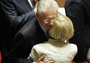 Премьер-министром Италии стал Марио Монти