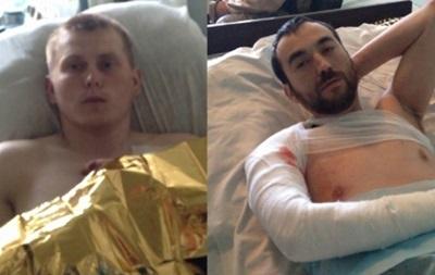 Пленных российских военных привезли на лечение в Киев