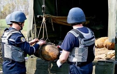 В Тернопольской области обнаружили четыре 100-килограммовые авиабомбы