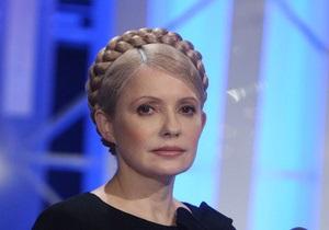 Тимошенко отбыла на похороны Качиньского