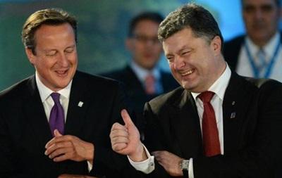 Порошенко рассказал Кэмерону об ожиданиях от Рижского саммита