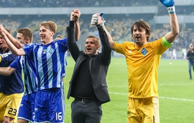 Тренер Динамо: Любой футболист мечтает положить медали чемпионата в Кубок страны
