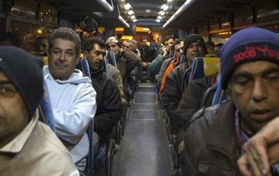 Израиль не решился на сегрегацию палестинцев в автобусах