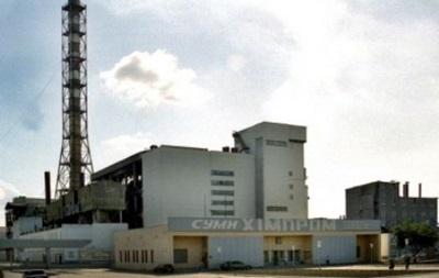 На химзаводе в Сумах произошел выброс паров серной кислоты