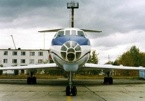 В Новом Уренгое при взлете загорелся Ту-134