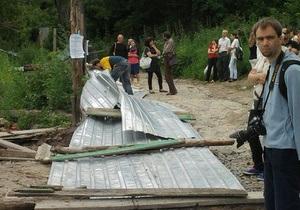 Бригинец: Застройщики горы Щекавица получат предписание о приостановке строительных работ
