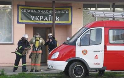 В Киеве подожгли офис волонтеров по сбору помощи бойцам АТО