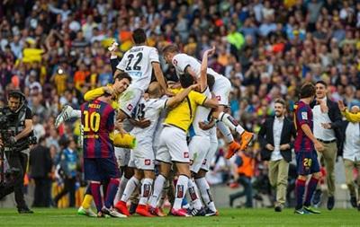 Барселона сыграла вничью с Депортиво в заключительном матче чемпионата