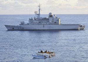 Французские военные уничтожили пиратское судно в Индийском океане