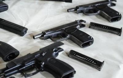 В Украине увеличилось количество нелегального оружия