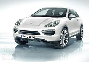В интернете появились первые фото нового кроссовера от Porsche