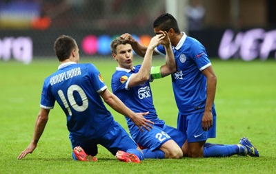 Результат матча Днепр Севилья