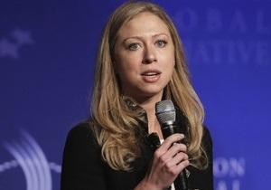 На Корреспондент.net началась прямая трансляция встречи Челси Клинтон с украинскими студентами