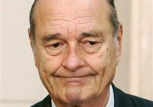 Жак Ширак предстанет перед судом в начале 2011 года