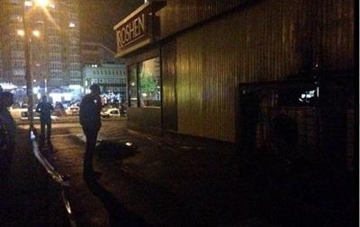 Взрыв в магазине Roshen в Киеве расследуют как хулиганство