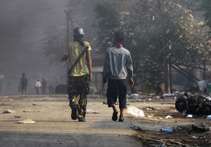 США выделят на помощь пострадавшим в столкновениях в Мьянме $100 тыс